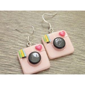 Jewelry - Polaroid Camera Earrings